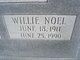 Profile photo:  Willie Noel Adams