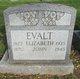 Profile photo:  Elizabeth <I>Staub</I> Evalt