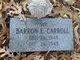 Profile photo:  Barron E Carroll