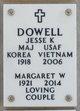 Margaret <I>Wilson</I> Dowell