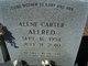 Alene <I>Carter</I> Allred