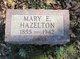 Profile photo:  Mary E Hazelton