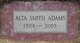 Alta E <I>Smith</I> Adams