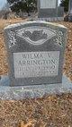 Wilma V Arrington