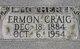 Profile photo:  Ermon <I>Wray</I> Craig