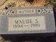 Sarah Maude <I>Heard</I> Gulledge