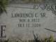 "Lawrence C. ""Larry"" Lane, Sr"