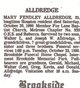 Profile photo:  Mary <I>Fendley</I> Alldredge