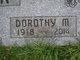 Dorothy Marie <I>Link</I> Bonk