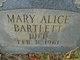 Mary Alice Bartlett