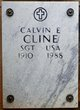 Profile photo: Sergeant Calvin E Cline