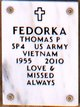 Profile photo:  Thomas P Fedorka