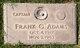 Profile photo: Capt Frank Garland Adams