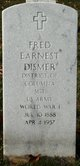 Profile photo:  Fred Earnest Dismer