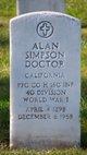 Profile photo:  Alan Simpson Doctor