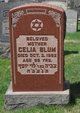 Celia <I>Friedman</I> Blum