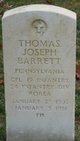 "Corp Thomas J "" "" <I> </I> Barrett"