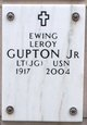 Profile photo:  Ewing Leroy Gupton, Jr.