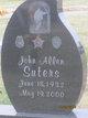 Profile photo:  John Allen Suters