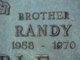 "Profile photo:  David Randall ""Randy"" Kimble"