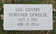 Lou <I>Gentry</I> DeWeese