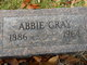 Profile photo:  Abbie Gray