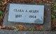 Profile photo:  Clara Amanda <I>Remley</I> Allen