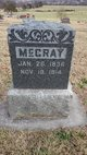 Profile photo:  McCray