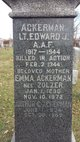 Profile photo: LT Edward J Ackerman