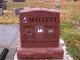 Profile photo:  Bertha M. Hallett