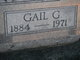 Gail M. <I>Gallaher</I> Armstrong