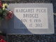 Profile photo:  Margaret <I>Pugh</I> Bridges