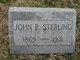 Profile photo:  John R Sterling