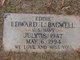 "Profile photo:  Edward L. ""Eddie"" Bagwell"
