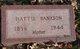Hattie Bankson
