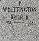 Profile photo:  Brian R Whittington
