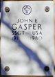 Profile photo: Sergeant John E Gasper