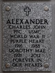Profile photo:  Charles John Alexander