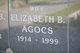 Profile photo:  Elizabeth B. <I>Behr</I> Agocs