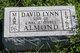 David Lynn Almond