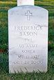 Profile photo:  Frederick Bason