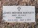"""Profile photo:  James Monroe """"Jimmy"""" Bartlett"""