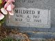 Mildred Ruth <I>Lawrence</I> Buxton