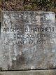 Profile photo:  Archer B Hatchett