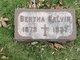 Profile photo:  Bertha <I>Sanders</I> Galvin