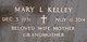 Mary Louise <I>Abel</I> Kelley