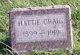 Hattie <I>Frisbie</I> Craig