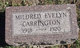 Mildred Evelyn Carrington