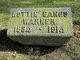 "Charlotte Marie ""Lottie"" <I>Bangs</I> Warner"
