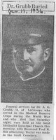 Profile photo: Dr Albert G. Grubb